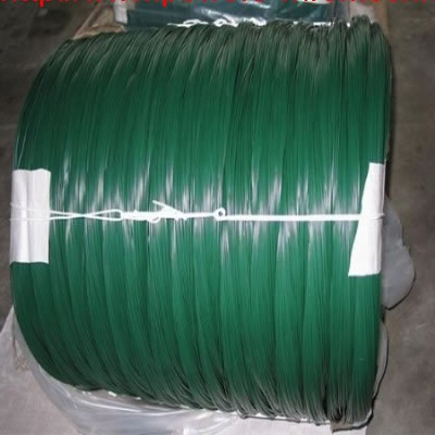 Plastic Coated Wire with Green Color