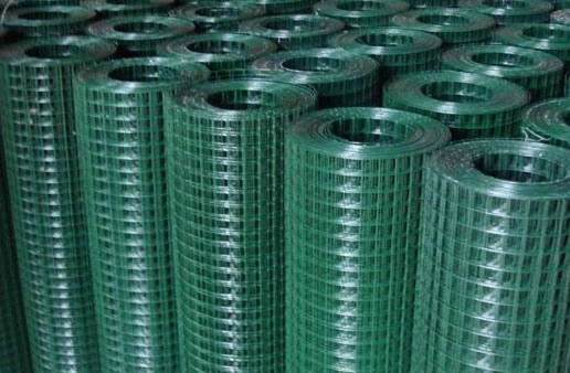 Green Coated Welded Wire Fabric