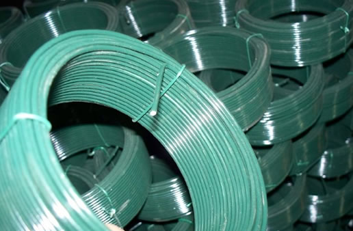 Coated Wire in Small Coils